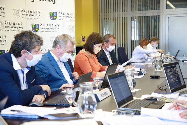 Zastupiteľstvo Žilinského kraja rokovalo formou videokonferencie.