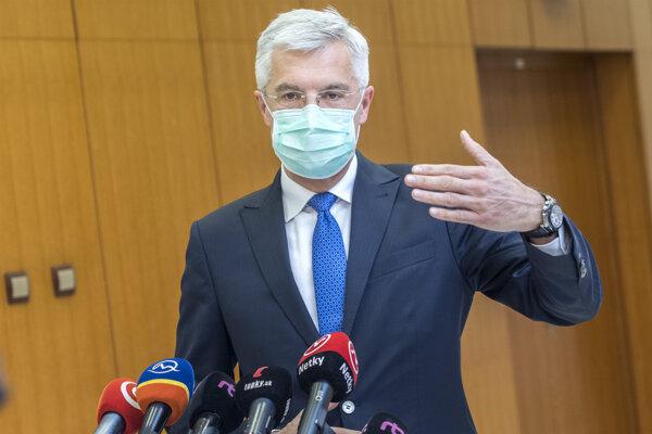 Na snímke minister zahraničných vecí a európskych záležitostí SR Ivan Korčok.