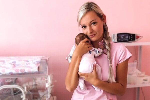 Lucia Nandrážiová, lekárka Neonatologickej kliniky UNM Martin.