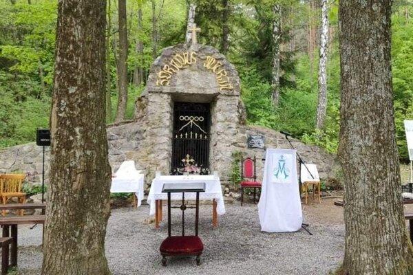 Kaplnka Panny Márie Lurdskej v Kláštore pod Znievom.