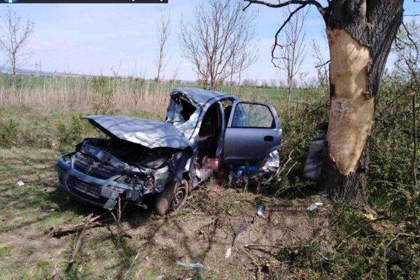 Spolujazdec nehodu neprežil.