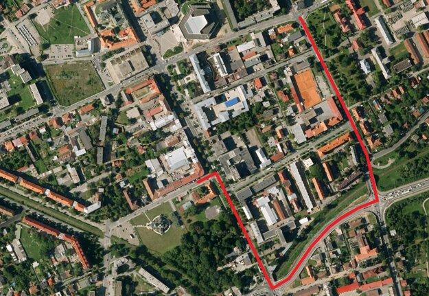Obchádzka na Grešovu ulicu povedie cez Masarykovu smer Čierny most, Kuzmányho a Lesík delostrelcov.