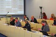 Zasadnutie zastupiteľstva v Prešove.