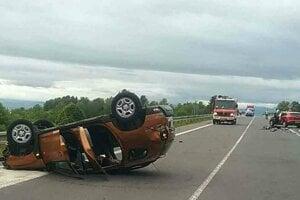 Nehoda neďaleko Hornej Štubne