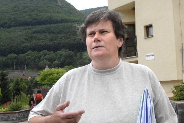 Súčasná starostka obce Malá Lodina Adriána Fečková bola vo funkcii aj počas záplav v roku 2010.