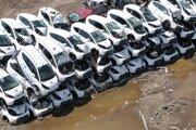 Takmer 50 elektromobilov skončilo v Indianapolise po 4 rokoch v šrote.
