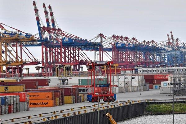 Nemecký prístav Bremerhaven na fotografii z mája 2019.