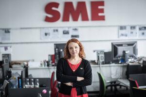 Šéfredaktorka SME Beata Balogová.