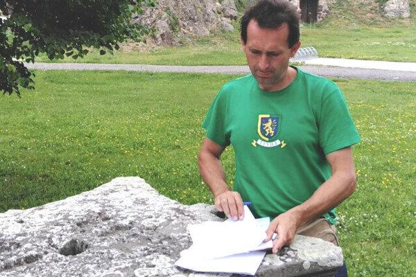 Dušan Peter, jeden zo štyroch iniciátorov petície.