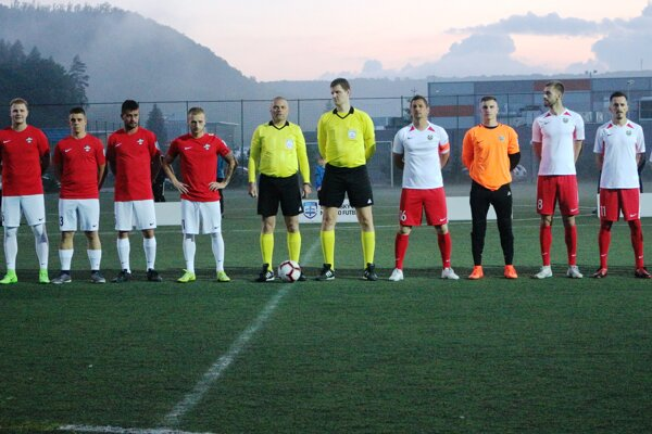 Pred zápasom Zvolena s Prešovom.