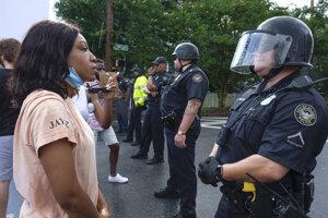 Demonštrácie v Atlante zrejme tak skoro neustanú.