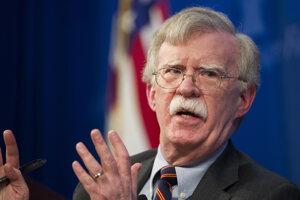Bývalý americký poradca pre národnú bezpečnosť John Bolton.