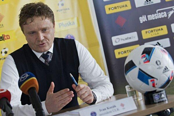 Prezident Únie ligových klubov Ivan Kozák.