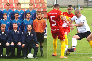 Šaľan Ladislav Vencel kedysi reprezentoval Slovensko. Dnes sa baví futbalom doma v drese Veče.