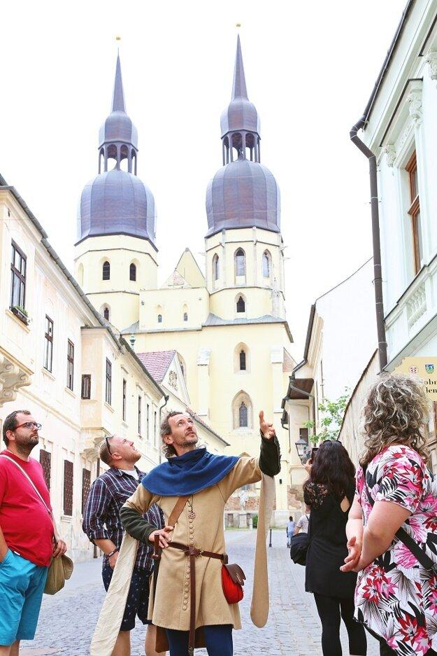 Prehliakda mesta Trnava so sprievodcom