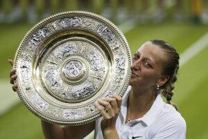 Petra Kvitová vyhrala Wimbledon v rokoch 2011 a 2014.