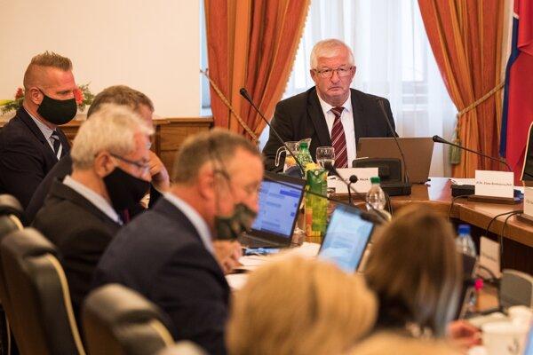 Nový predseda Súdnej rady Ján Mazák.