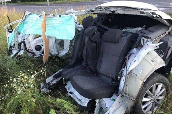 Foto z nehody.