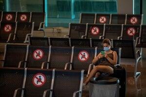 Koronavírus vo svete: Letisko v Barcelone 30. júna 2020.