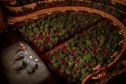V barcelonskom divadle Gran Teatre del Liceu zahrali koncert pre živé bytosti.