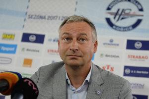 Július Lang - prezident HC Košice.