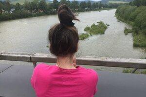 Pohľad na Dunajec.