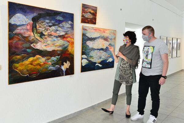 Výstava Magické svety v Poprade.
