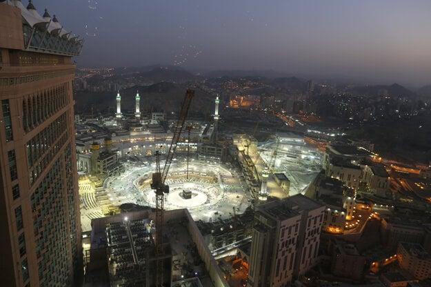 Mekka, centrum výročnej púte hadždž.
