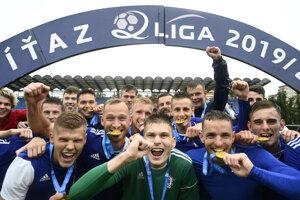 Dubnica vyhrala 2. futblaovú ligu.