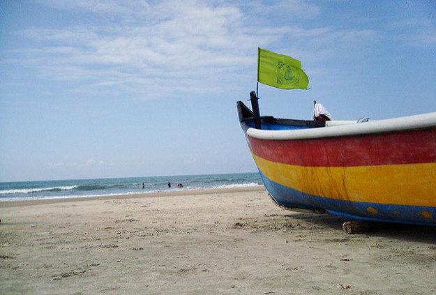 Pláž Armabol.