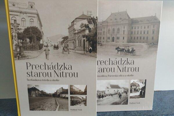 Vydané publikácie zo série Prechádzka starou Nitrou si môžete zakúpiť aj u nás v redakcii.