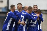 Futbalisti FK Dubnica.