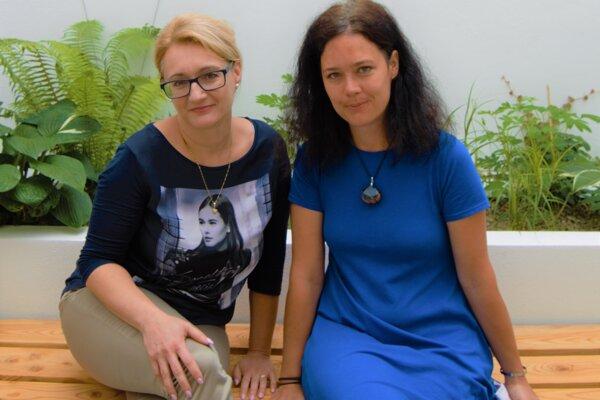 Tatiana Babincová a Katarína Gorná.