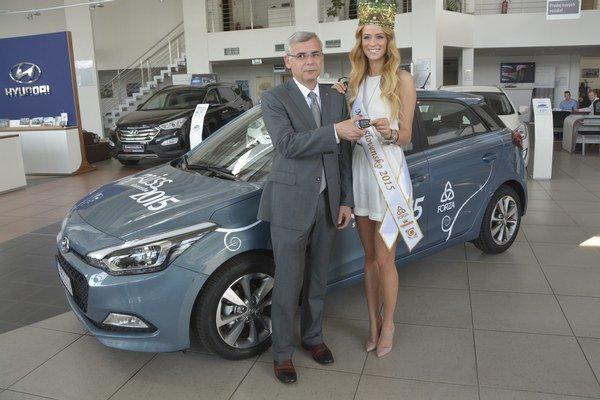Lujza Straková bude jazdiť s modelom Hyundai i20.