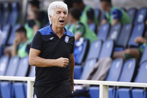 Tréner Atalanty Bergamo Gian Piero Gasperini.