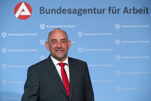 Śéf nemeckého spolkového úradu práce Detlef Scheele.
