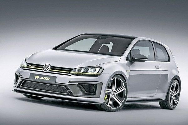 Volkswagen pripravuje najvýkonnejší Golf, ktorý sa zaradí do ponuky k modelom Golf GTI, GTD a Golf R.
