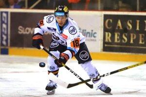 Jakub Sukeľ v drese HC Košice.