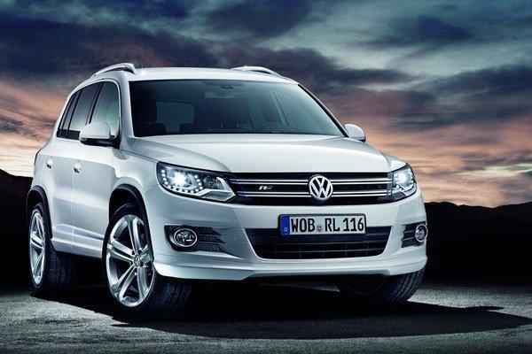 Súčasná generácia VW Tiguan