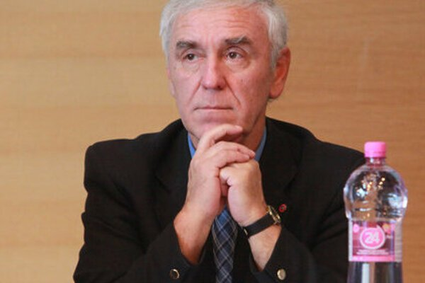 Jozef Paršo, prezident Stredoslovenského futbalového zväzu.