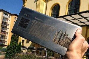 Tabuľku s QR kódom dostane aj vrútocká synagóga.