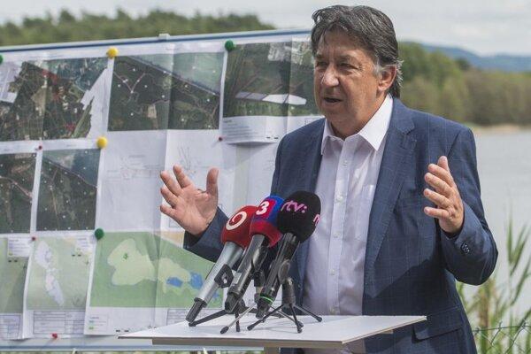 Ján Budaj, minister životného prostredia.