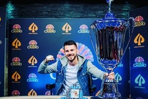 Minuloročný víťaz pokrového turnaja Matúš Gabzdil