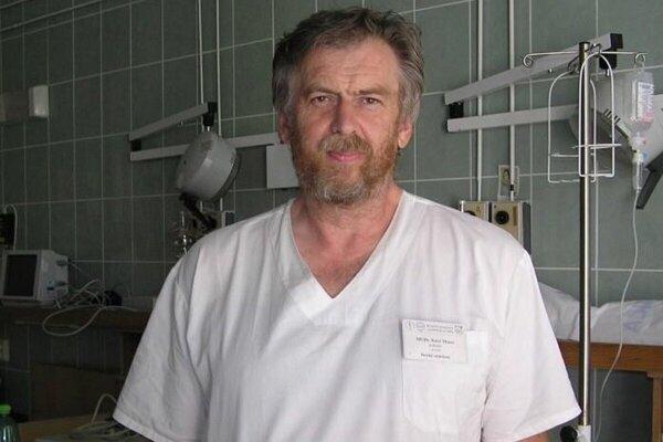 Primár detského oddelenia Kysuckej nemocnice v Čadci Jozef Marec.