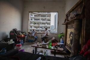 Bejrút po výbuchu v prístave.