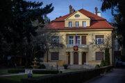 Ruská ambasáda v Bratislave.