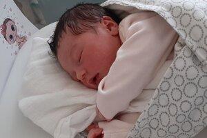 Tereza Vineková (3060 g, 48 cm) sa narodila 25. júla Marianne a Martinovi z Novej Dubnice.