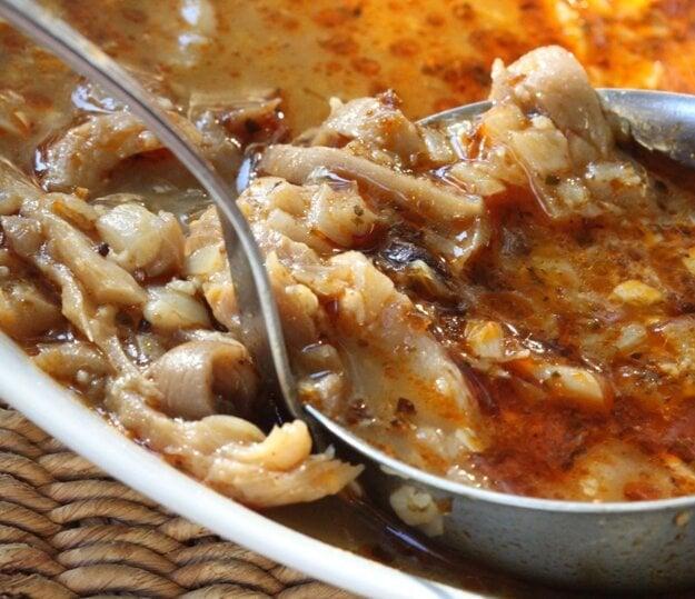 Držková polievka z húb