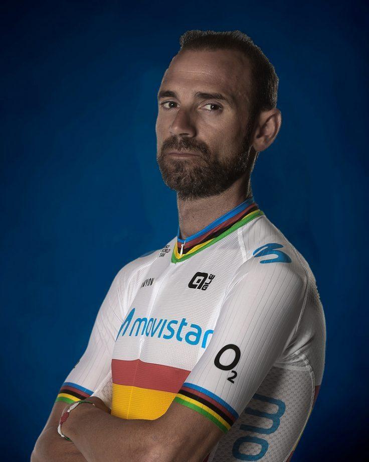 Alejandro Valverde, cyklista, tím Movistar Team