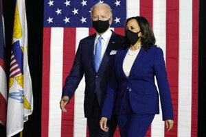 Joe Biden a Kamala Harrisová.